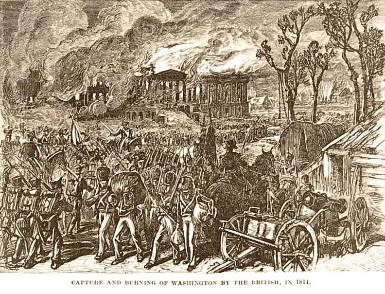 The Burning of Washington 1814