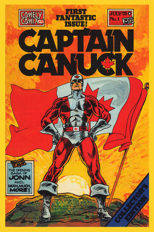 Cover of Captain Canuck #1 (1975) CCT0031