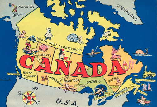 Canadian Culture Thing postcard CCT0073.