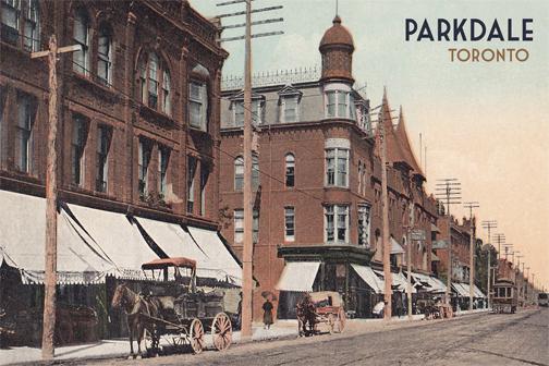 A-CCT0126-ON-Toronto-Parkdale Toronto Postcard