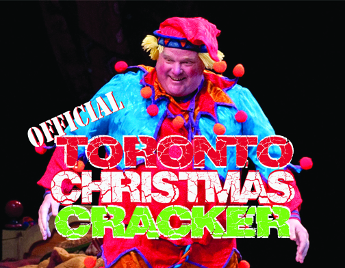 "Not only does Toronto Mayor Rob Ford smoke crack, he even once made a cameo appearance in the National Ballet of Canada's ""The Nutcracker"" on December 10, 2011. Ford appeared as a bellicose Cannon Doll although some reports suggest that he may have been on one of his ""drunken stupors"" and mistook the cannon as a  giant crack-pipe Toronto, Ontario 2011."