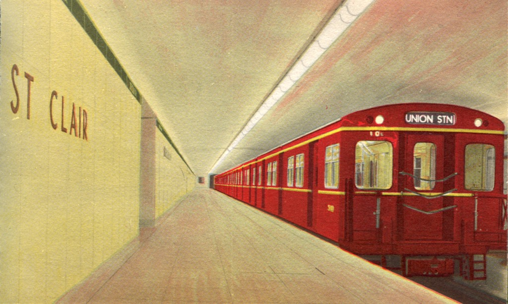 ON-Toronto-Red Subway train PC
