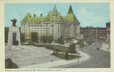Chateau Laurier, Ottawa, Ontario.