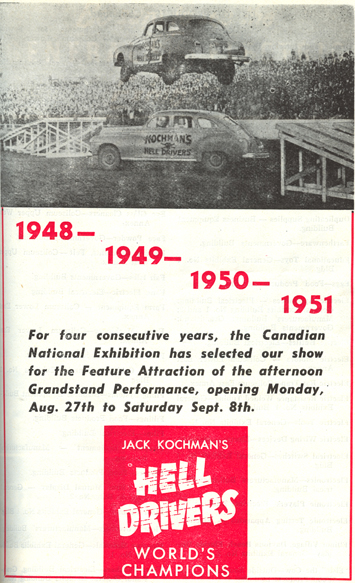 ON-Toronto-CNE Hell Drivers-1951-2
