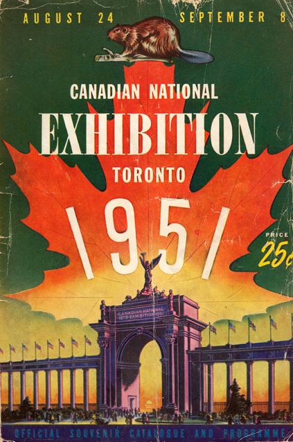 ON-Toronto-CNE programme 1951-2
