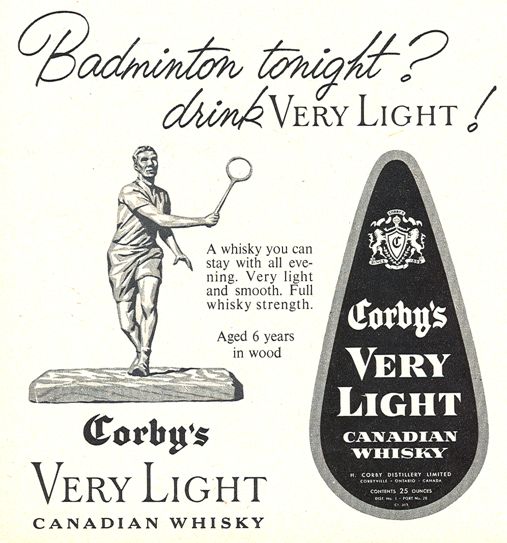 ad-badminton-whisky-march1960